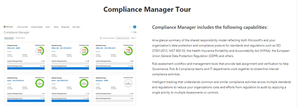 GDPR Compliance Manager Tour